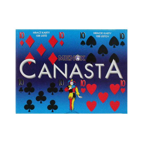 Karty hrací-Canasta Bonaparte papírová krabička
