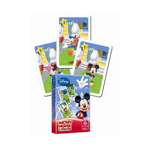 Karty hrací Černý Petr - Disney Mickey