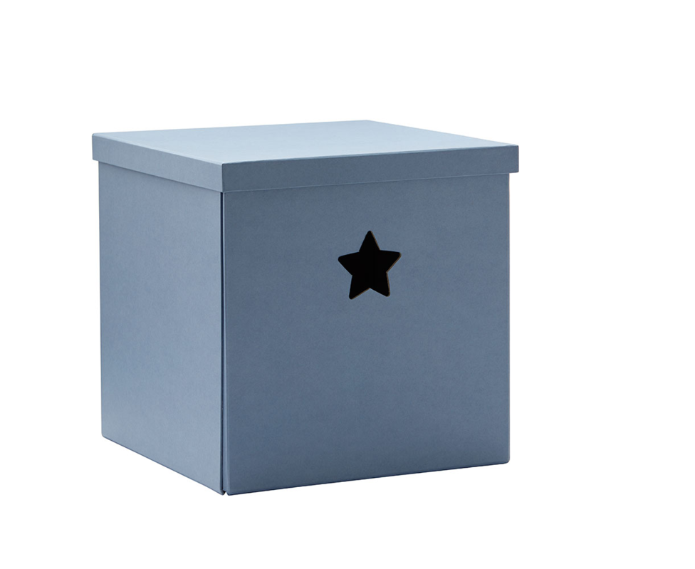 KIDS CONCEPT - Krabice Star Blue