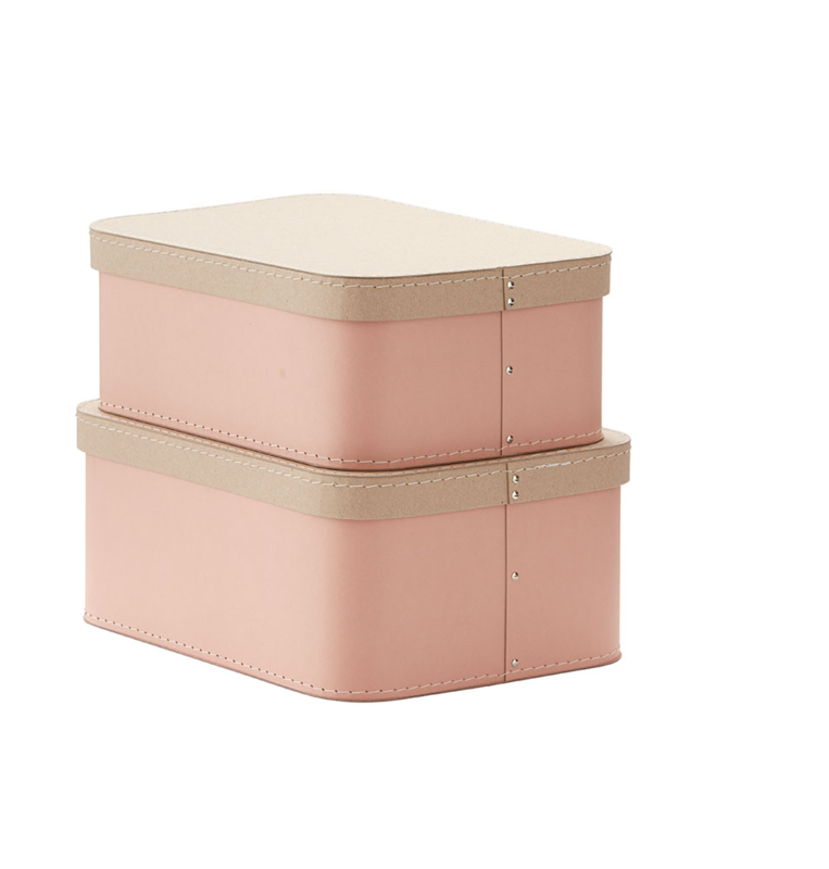 KIDS CONCEPT - Krabice 2 ks Pink