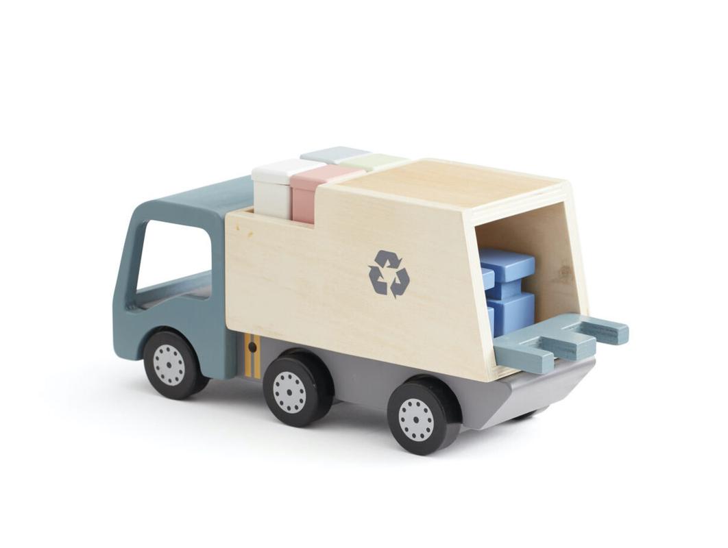 KIDS CONCEPT - Popelářský vůz Aiden dřevěný