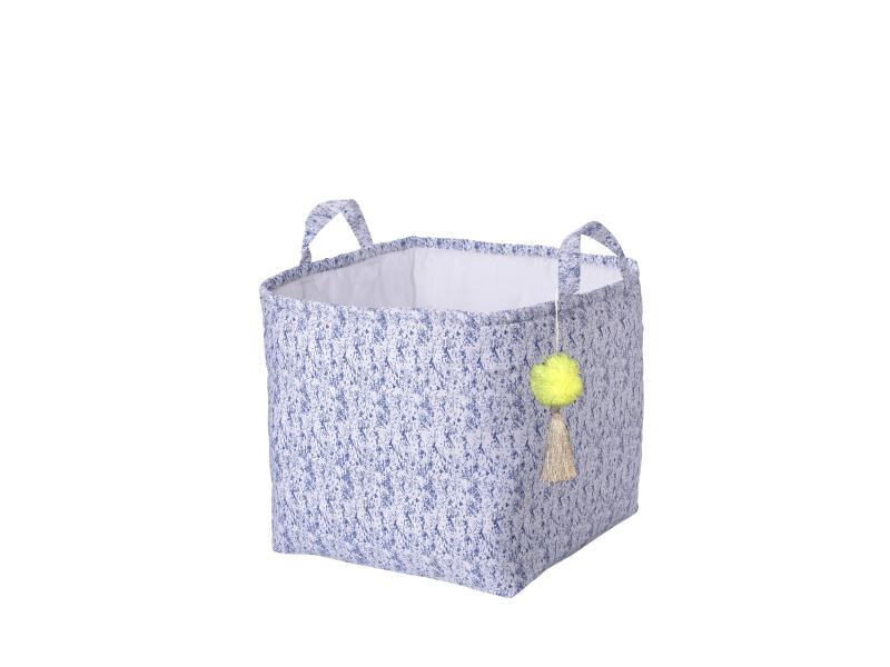KIKADU - Box na hračky modrý