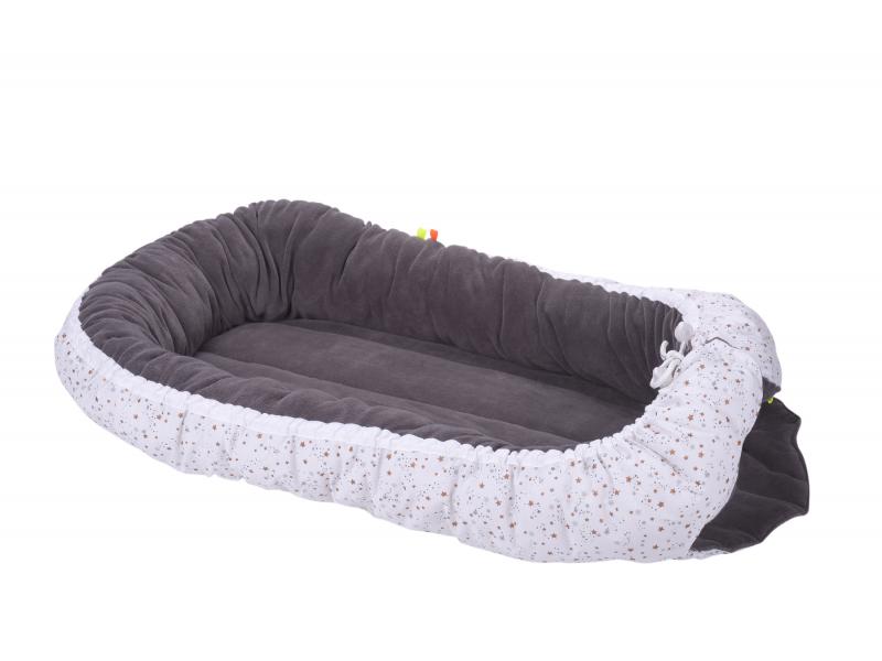 KIKADU - Hnízdo pro miminko hnědé KIKADU