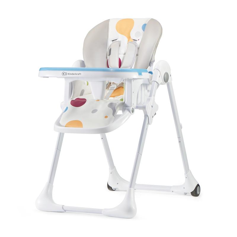 KINDERKRAFT - Židlička jídelní YUMMY multi