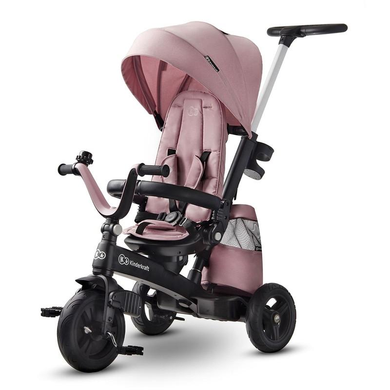KINDERKRAFT - Tříkolka Easytwist MAuvelous Pink Kinderkraft 2020