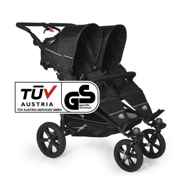 TFK - Kočárek pro dvojčata Twin Trail - Tap Shoe T-TWT-310