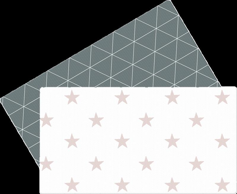 LALALU - Hrací podložka do kuchyně - Grey Star