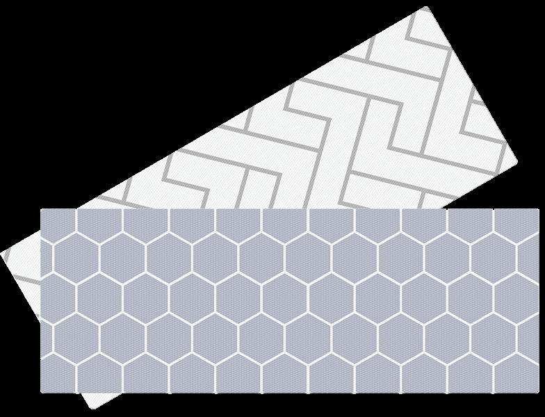 LALALU - Hrací podložka do kuchyně - Hexagon