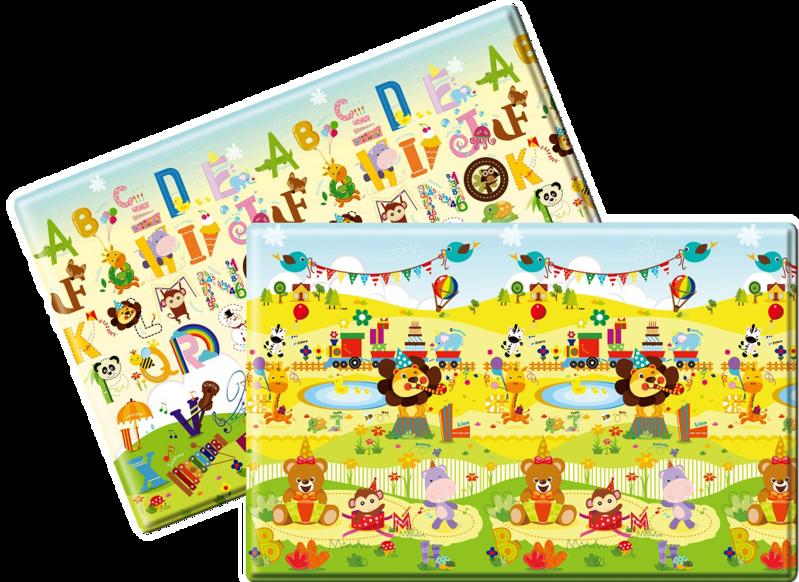 LALALU - Podložka na hraní Premium S - Happy Birthday