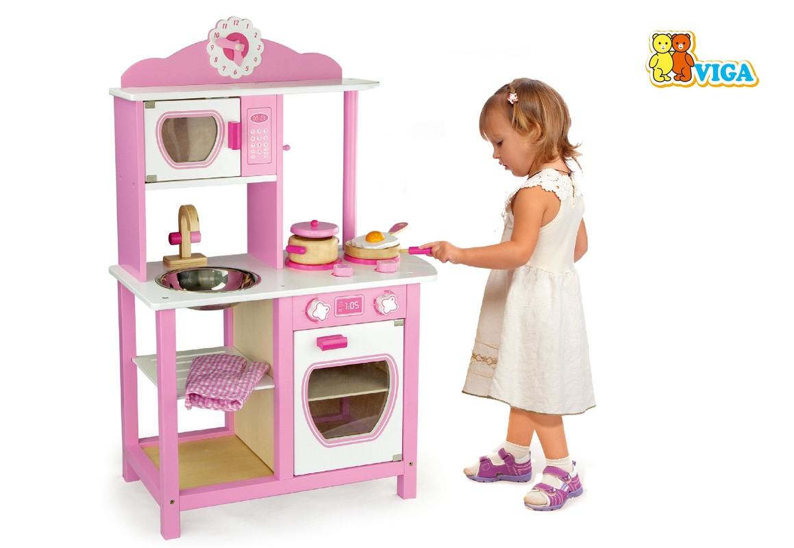 LAMPS - Dřevěná kuchyňka pro princezny