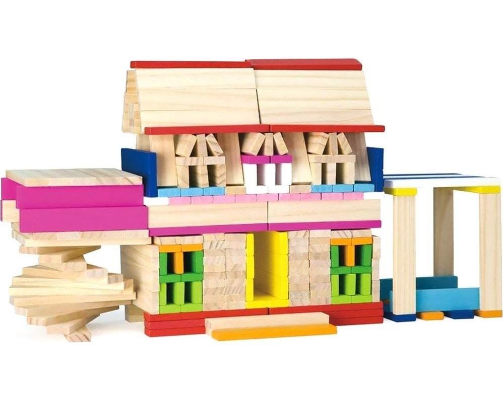 LAMPS - Dřevěná stavebnice 250ks