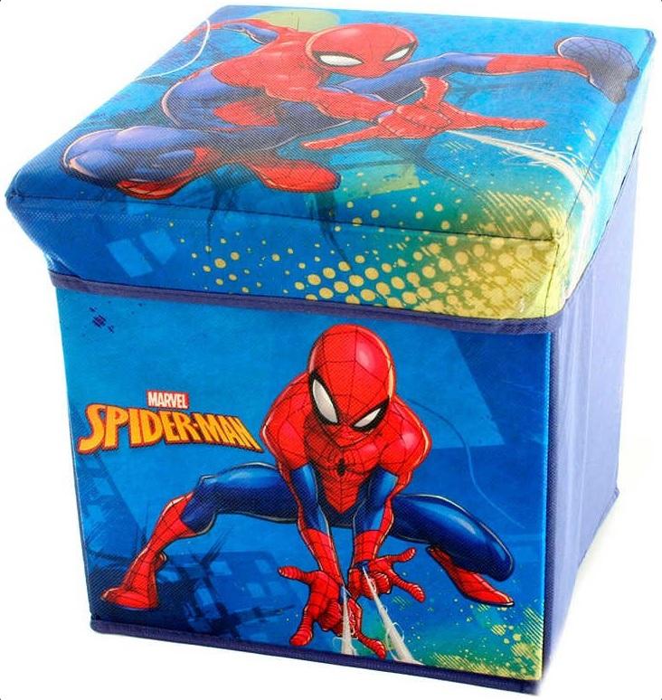LAMPS - Skládací box Spiderman 32x32x32cm