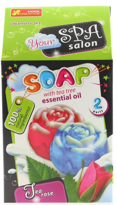 LAMPS - Výroba mýdla Čajovníková růže 2ks