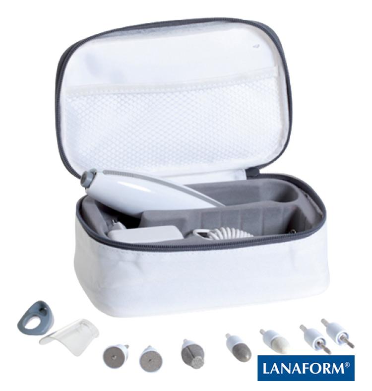 LANAFORM - Tactile Manicure sada na manikúru a pedikúru
