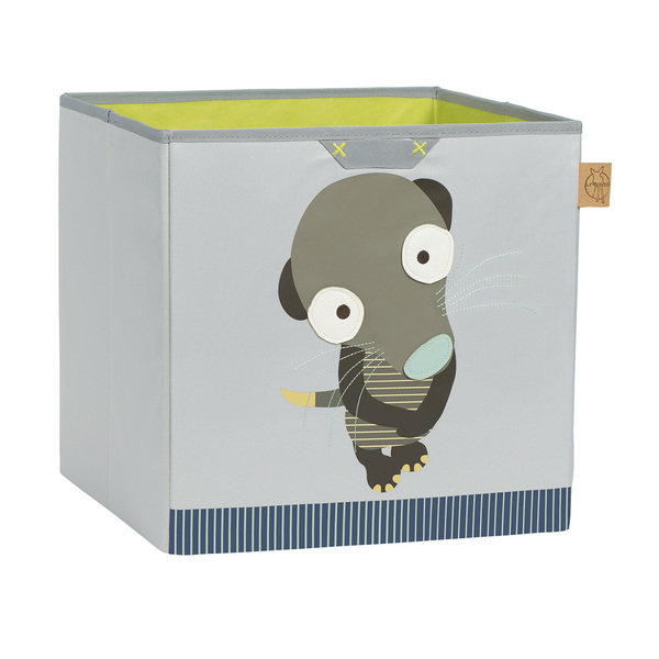 LÄSSIG - Box na hračky Toy Cube Storage Wildlife Meerkat