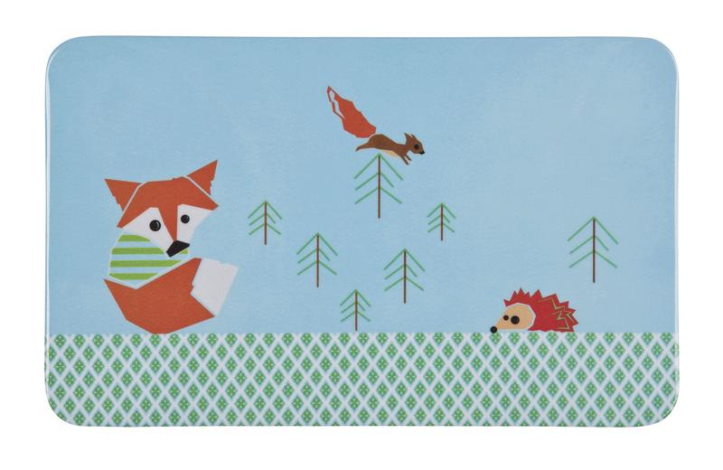 Lässig - Dětské prostírání Breakfast Boards - Little tree fox