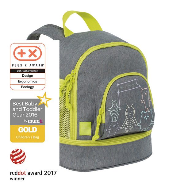 LÄSSIG - Dětský batoh Mini Backpack About Friends mélange grey