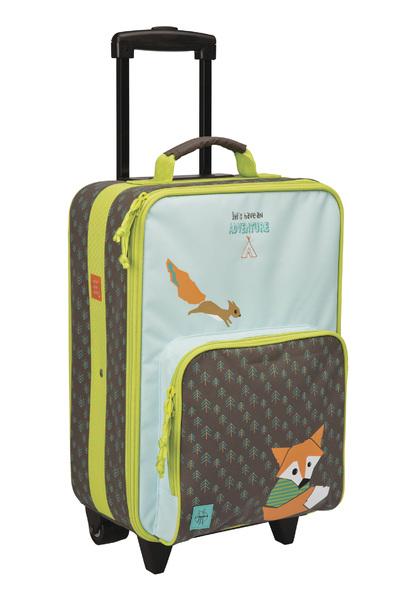 LÄSSIG - dětský kufr, Trolley Little tree fox
