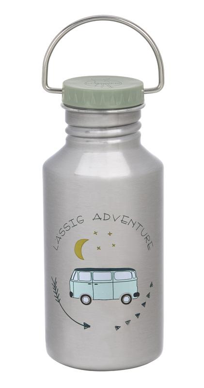 LÄSSIG - láhev Bottle Stainless Steel Adventure Bus