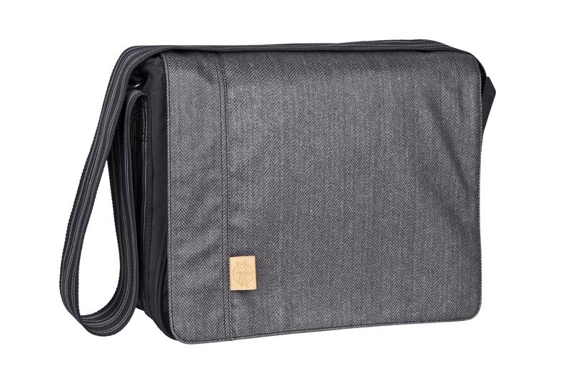 Lässig - Taška na rukojeť Casual Messenger Bag, Twill black
