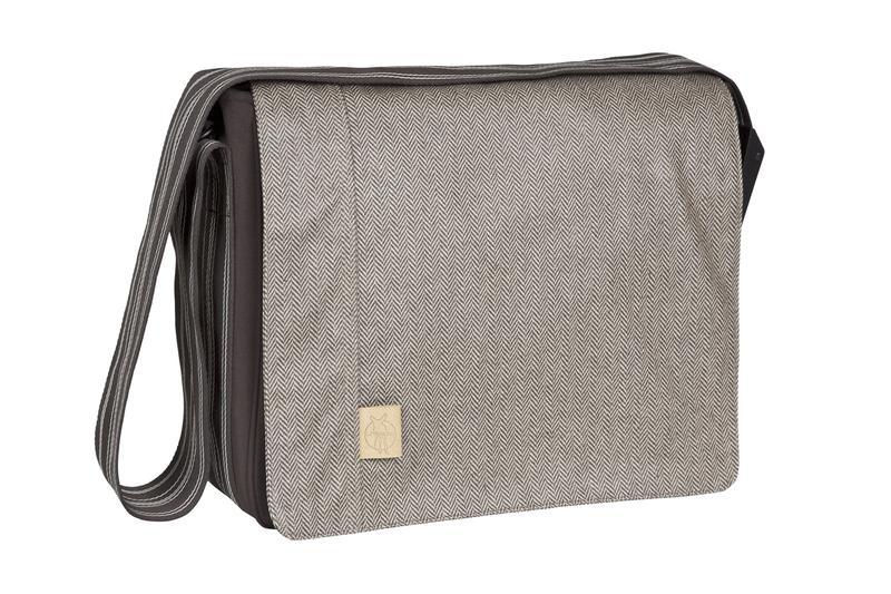 Lässig - Taška na rukojeť Casual Messenger Bag, Twill choco