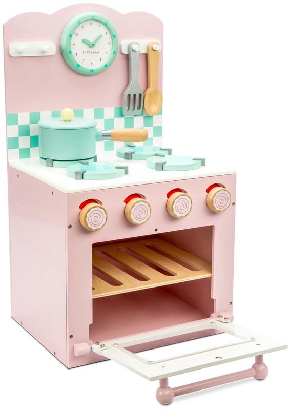 LE TOY VAN - Kuchyňka s troubou růžová