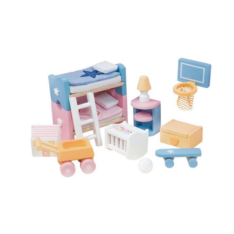 LE TOY VAN - Nábytek do domečku Dětský pokoj