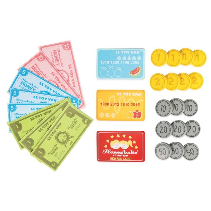 LE TOY VAN - Set peníze a platební karty na hraní