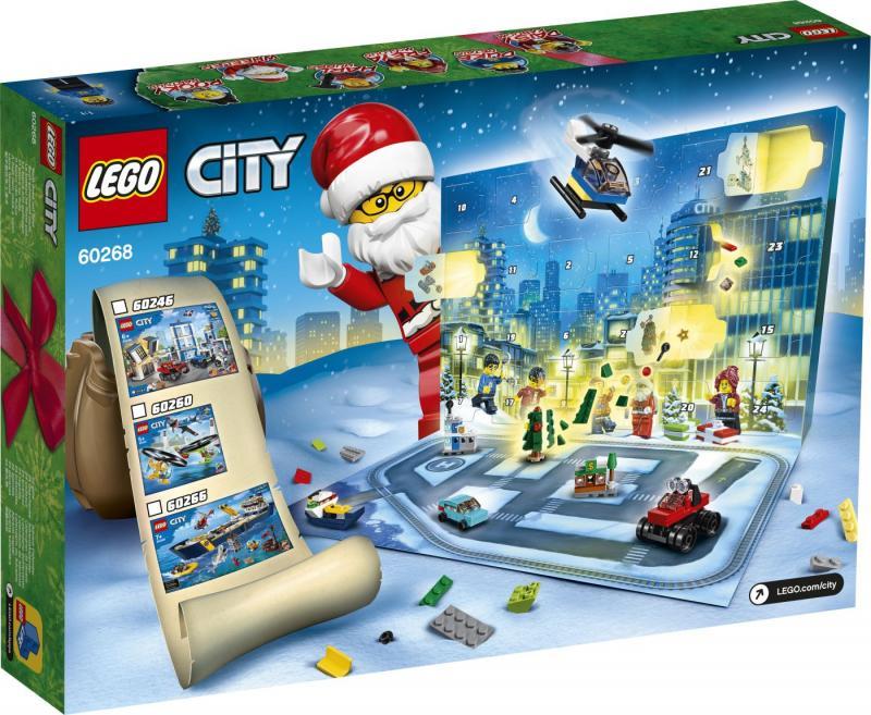 LEGO - Adventní kalendář City 60268 (2020)
