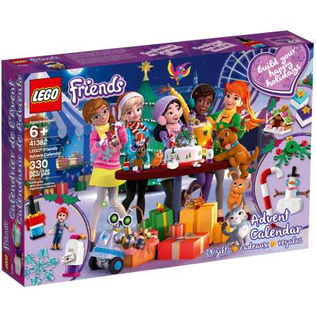 LEGO - Adventní kalendář Friends 41382 (2019)