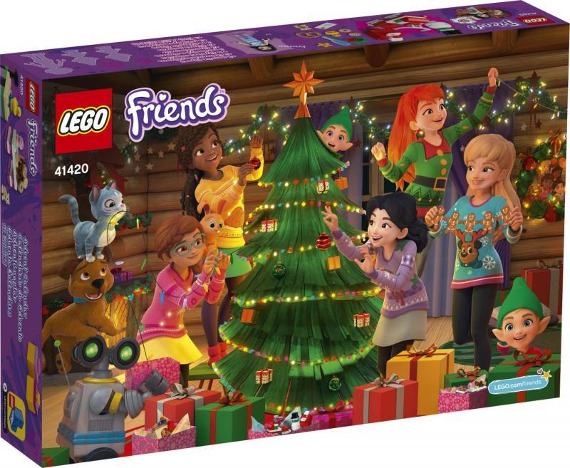 LEGO - Adventní kalendář Friends 41420 (2020)