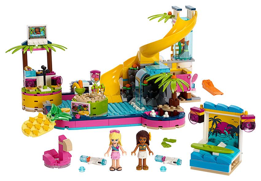 LEGO - Andrea A Její Party U Bazénu