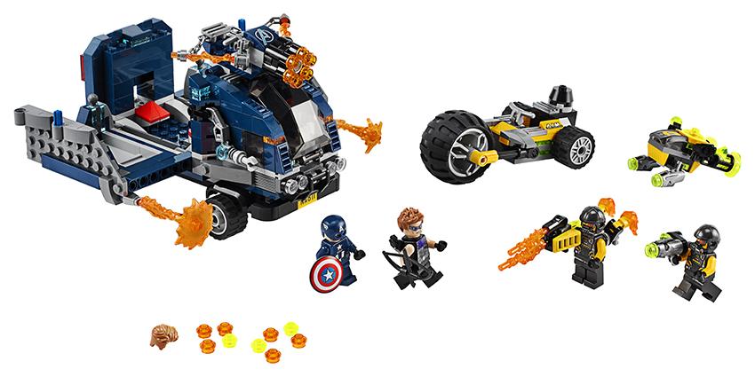 LEGO - Avengers: Boj O Náklaďák