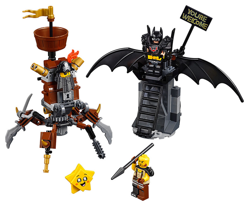 LEGO - Batman™ A Kovovous Připraveni K Boji