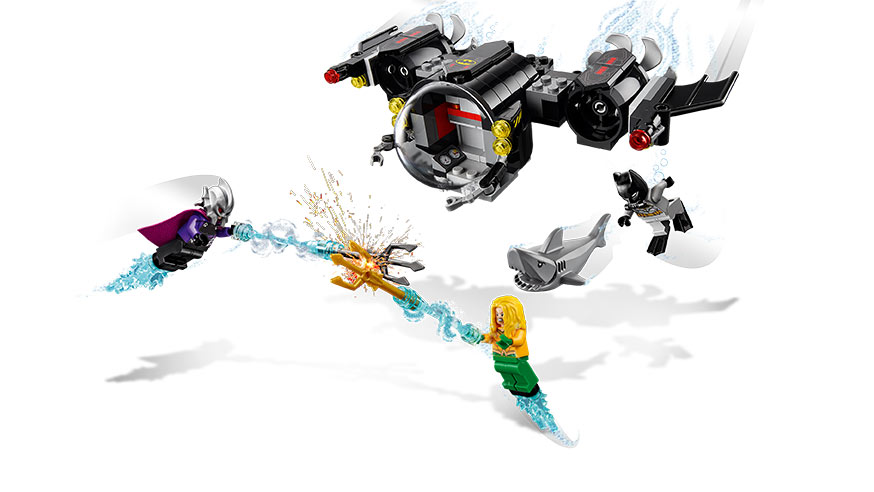 LEGO - Batmanova Ponorka A Střetnutí Pod Vodou