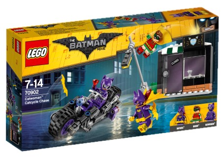 LEGO - Batman Movie 70902 Catwoman a honička na Catcycle