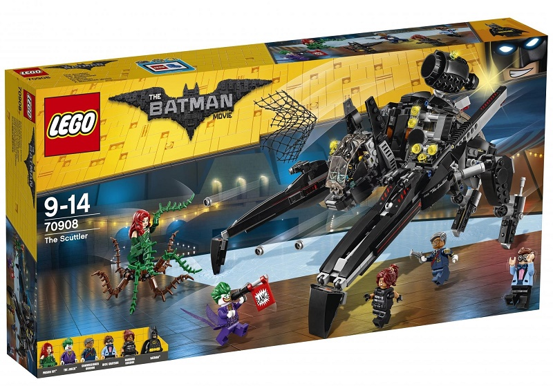 LEGO - Batman Movie 70908 Skútr