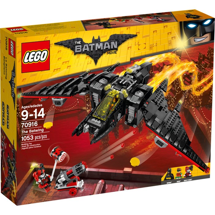 LEGO - Batman Movie 70916 Batmanovo letadlo