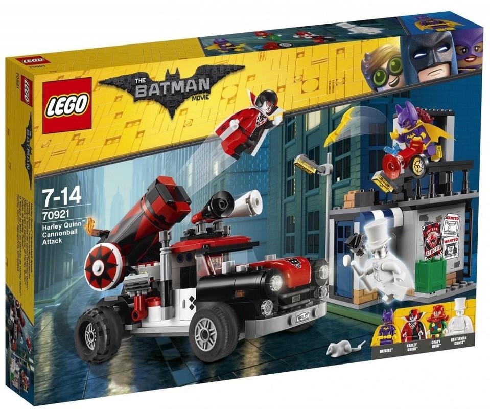 LEGO - Batman Movie 70921 Harley Quinn ™ a útok dělovou koulí