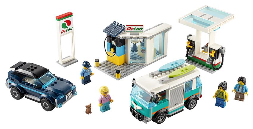 LEGO - Benzínová Stanice