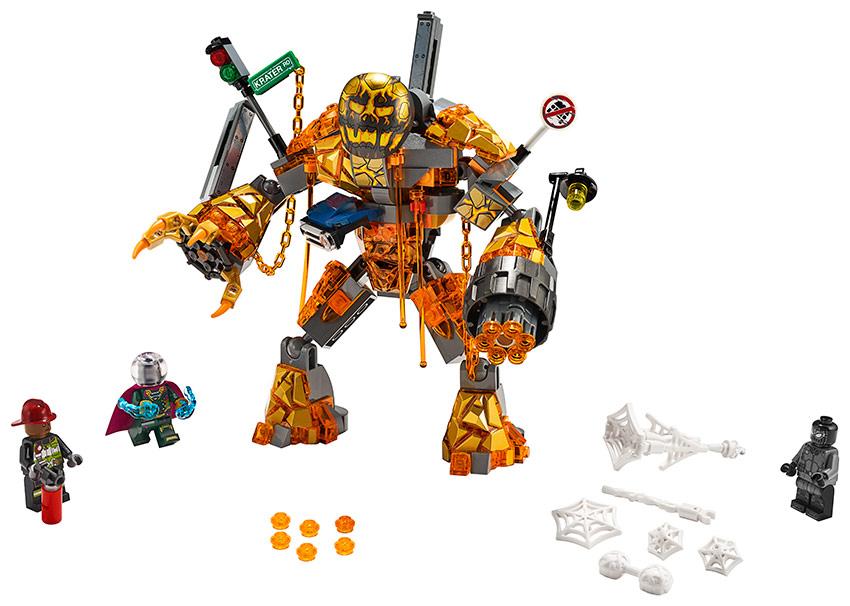 LEGO - Boj S Molten Manem