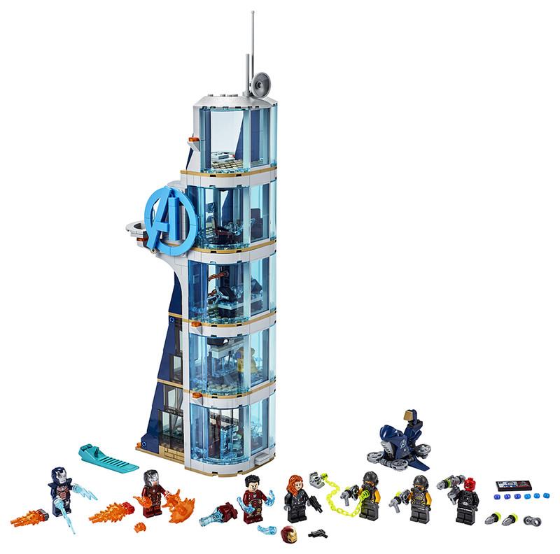 LEGO - Boj ve věži Avengerů