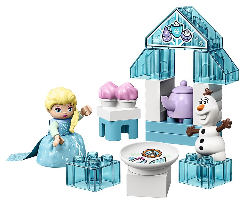 LEGO - Čajový Dýchánek Elsy A Olafa