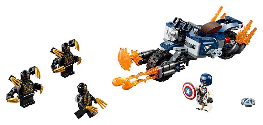 LEGO - Captain America: útok outriderů