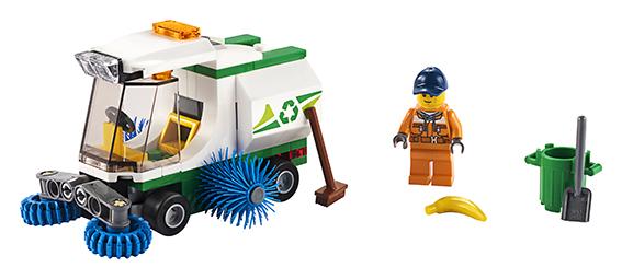LEGO - Čistící Vůz