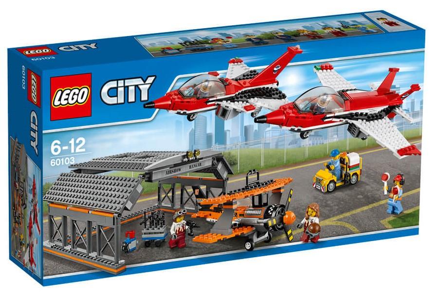 LEGO - City 60103 Letiště Letecké představení