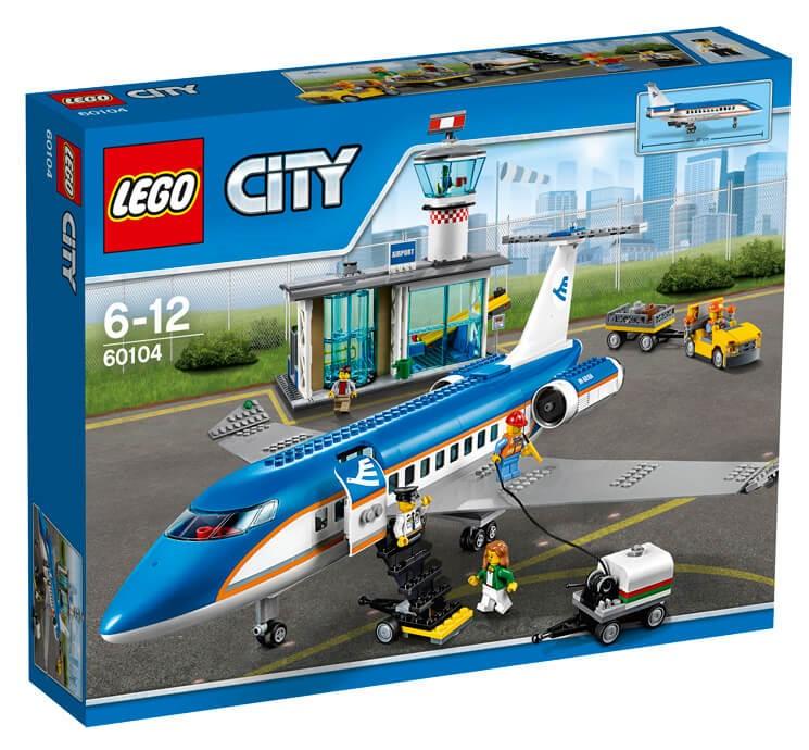LEGO - City 60104 Letiště Terminál pro pasažéry