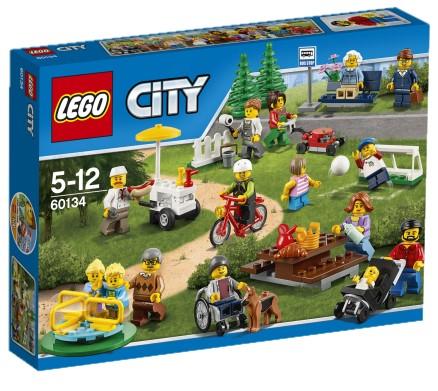 LEGO - City 60134 Zábava v parku - parta z města