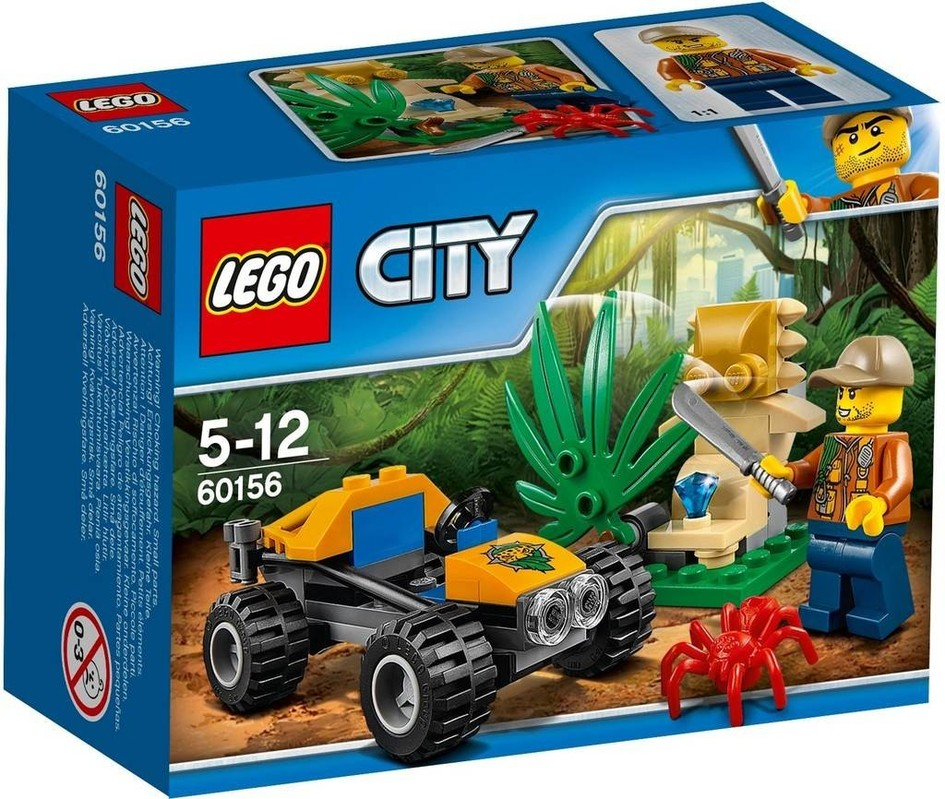 LEGO - City 60156 Bugatka do džungle