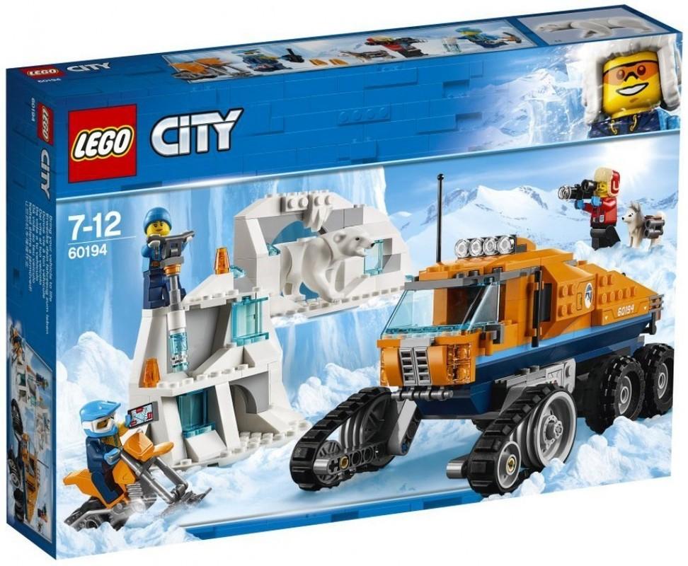 LEGO - City 60194 Polární průzkumné nákladní auto